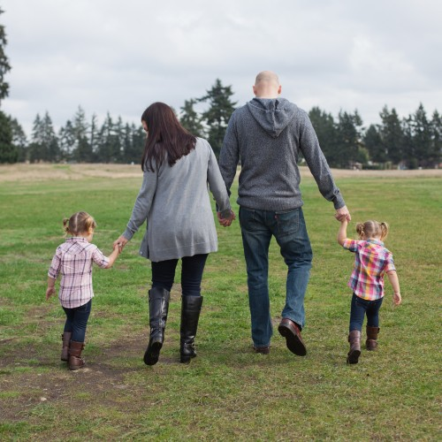 The Brown Family: Tacoma Area Portrait Photographer