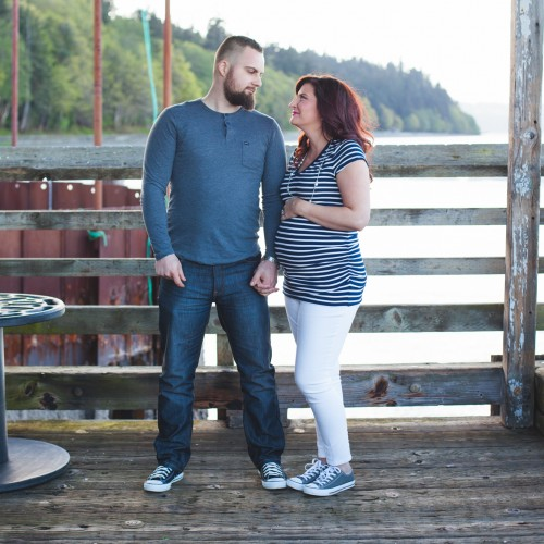 Lindsay and Alex : Baby on the way! : Tacoma Photography
